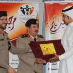 بالصور: تكريم محمد بن خلف الرئيس التنفيذي لأمن المدن